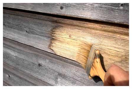 «Wood Bleach» Отбеливатель для древесины безхлорный