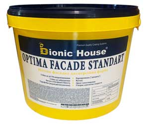 «Optima Facade standard» - фасадна фарба