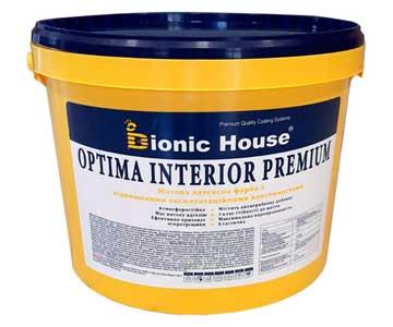 «Optima Interior Premium» - зносостійка, водостійка, матова