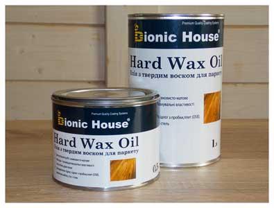 Масло для деревянных полов Hard Wax Oil