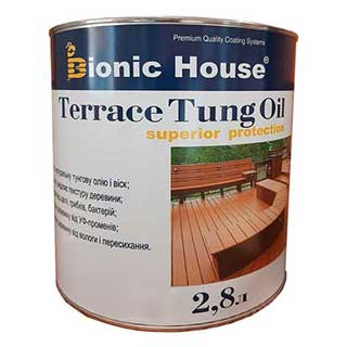 «Terrace Tung Oil» Террасное тунговое масло