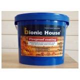 """Огнезащитная краска для дерева """"Fireproof coating"""""""