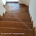 Лестница - полиуретановый паркетный лак_1