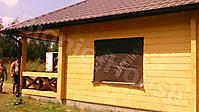 Покраска деревянного фасада цвет орегон_2