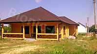 Покраска деревянного фасада цвет орегон_3