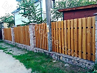 Аква-Колор, дуб-2019, деревянные заборы_2