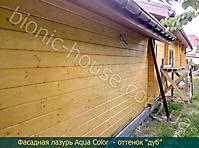 Финишная обработка деревянного фасада_1