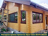 Финишная обработка деревянного фасада_3