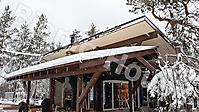 Деревянный банный комплекс в лесу_4